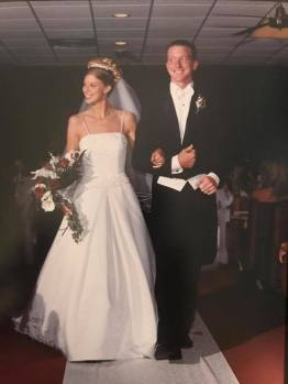 Jon and Erin were married August 2, 2002