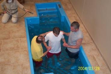 steve baptism